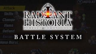 Radiant Historia: Perfect Chronology - Battle Systems Trailer [EU]