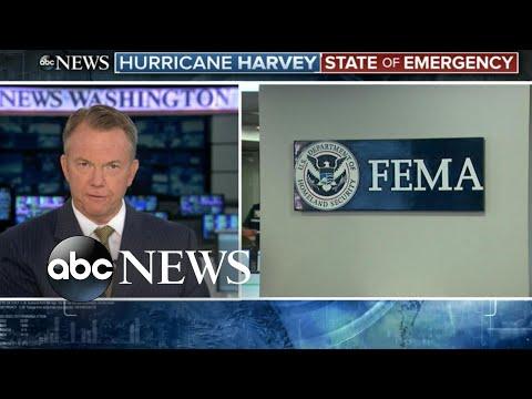 FEMA expecting 'large scale' damage as Hurricane Harvey slams into Texas coast