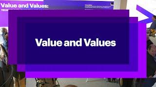WEF 20   Accenture: Value & Values