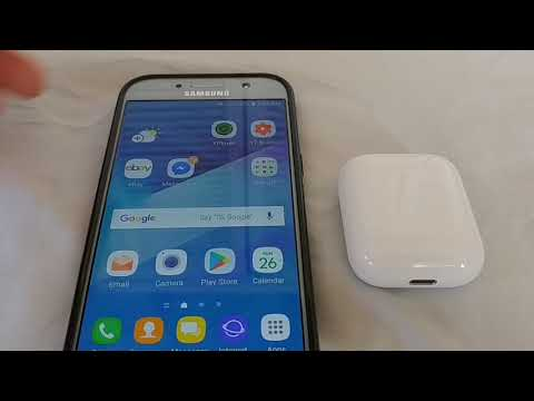 How To Pair Airpods To Samsung Android Phone