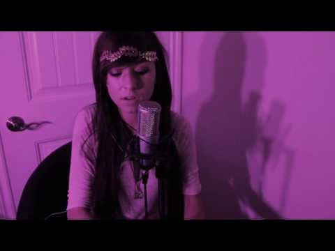 "Christina Grimmie singing ""Say Something"" by A Great Big World ft. Christina Aguilera"