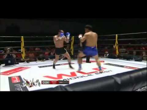 WLF MMA Championship Dubai 2013 - Johann Dederer vs. Xie Chuang