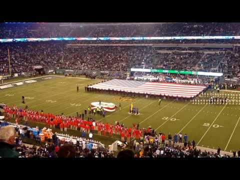 Jesse James Decker National Anthem 11/12/15