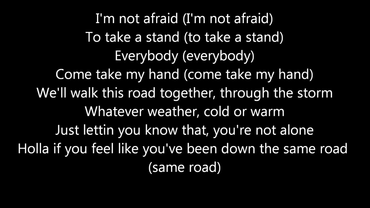 Eminem - Not Afraid Lyrics (HD) - YouTube