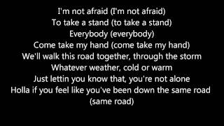 Repeat youtube video Eminem - Not Afraid Lyrics (HD)