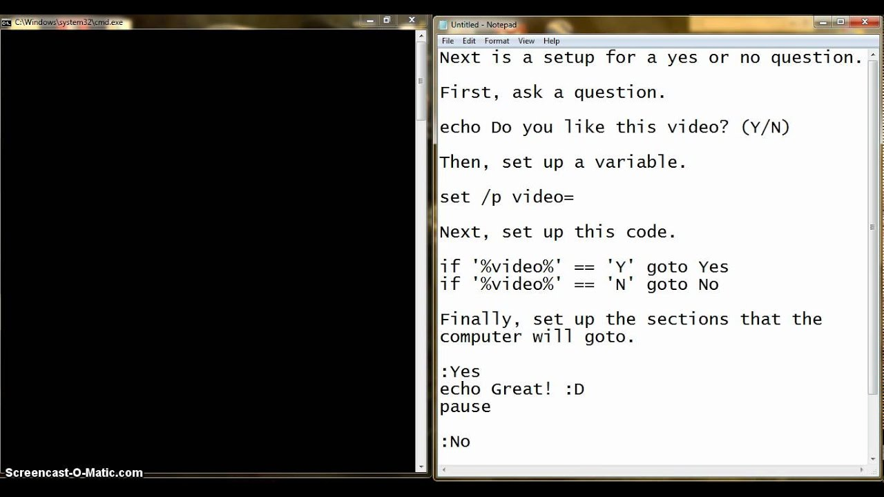 ms dos commands tutorial pdf