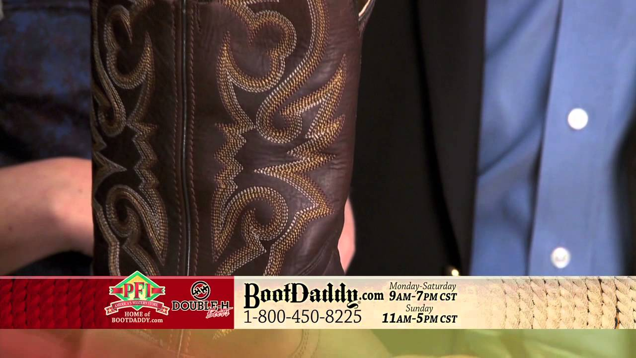a8e6d4456d5 Review of Double H Men's Waterproof Round Toe Brown Cowboy Work Boots DH4505