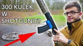 Shotgun z Hi-Capem - Druk 3D   ASG Maniak #104