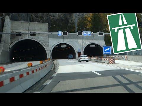 CH / A2 The Tunnels of Lucerne (Luzern)