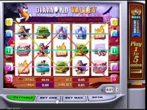 Игровой автомат Diamond Valley от Playtech