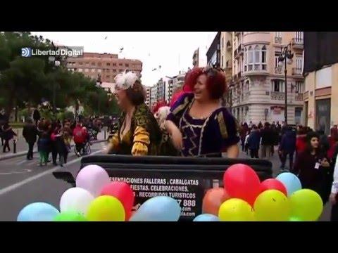 Libertad, Igualdad y Fraternidad, las tres 'reinas magas' de Valencia