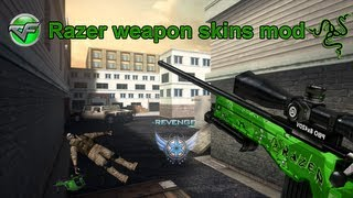Repeat youtube video [CF] Razer Guns, Skin Mods!? (RARE, UNSEEN WEAPONS!)
