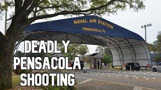 FBI investigating Pensacola naval air base shooting as 'act of terrorism'