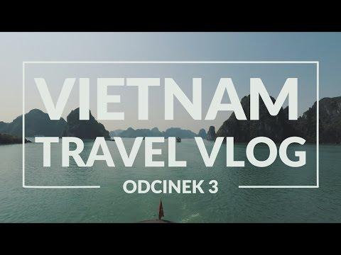Vietnam Travel Vlog 3 - Hanoi 🚌 Ha Long Bay