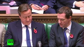 Cameron Unelected & Unelectable jibe to squirm out of tax credits - FULL