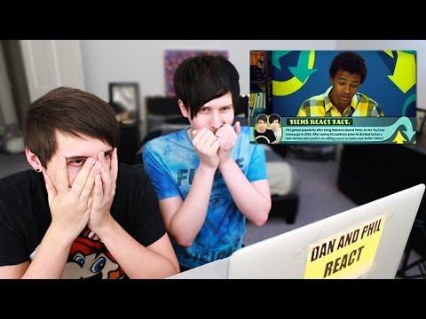 Dan And Phil React To Teens React To Dan And Phil