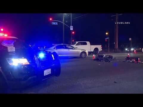 Possible Fatal Motorcycle Crash / Sylmar  10.19.18