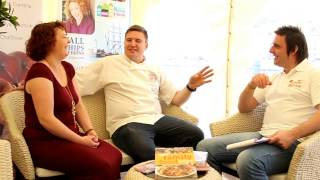 Britain's Best Bakery Judge Peter Sidwell On The Sofa