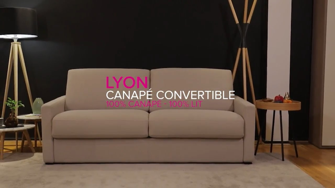 laminuteconvertible ep 8 lyon canap convertible la maison du convertible youtube. Black Bedroom Furniture Sets. Home Design Ideas