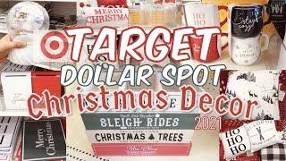 🎄 Target Dollar Sṗot Christmas 2021! New Christmas Decor #targetdollarspotchristmas #target