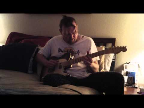 Me-Steve Purcell, in my jammies-monkey-ing' aroung on guitar 2011'