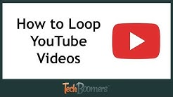 How to Loop YouTube Videos