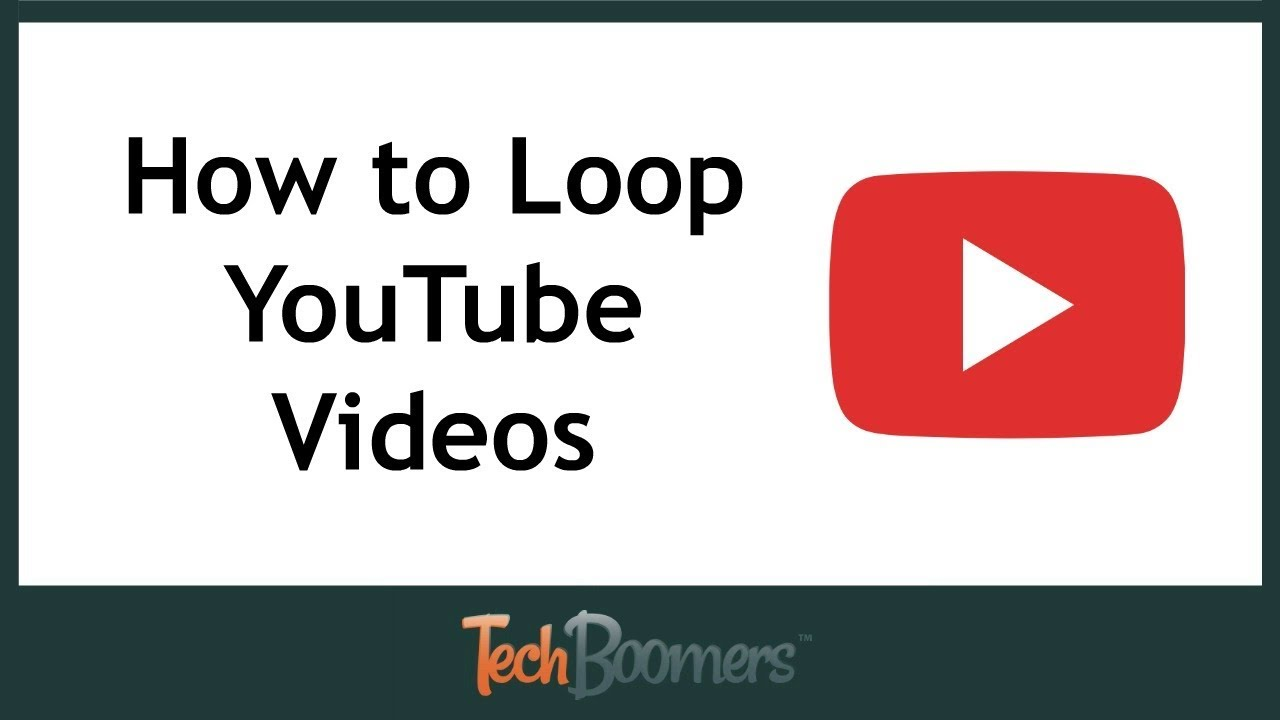 How To Loop Youtube Videos Youtube