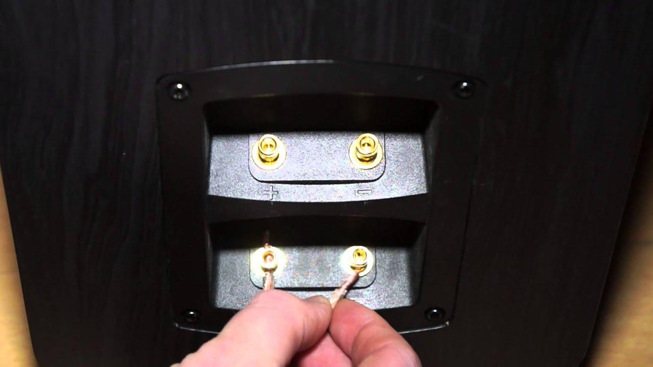 Teufel Ultima 40 Mk2 Bi Wire Speakers Youtube Wiring