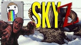 SkyZ | ZOMBIE PIGEON - Ep. 10 - Season 7 - Skyrim Zombie Survival