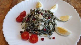 Маринуем морскую капусту / Салат из морской капусты