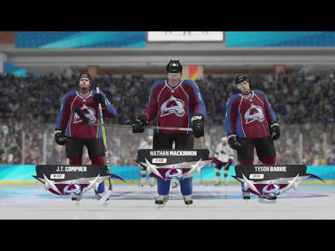 NHL 18 Beta - San Jose Sharks v Colorado Avalanche (NHL Threes)