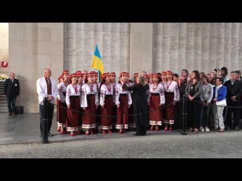 National anthem of Ukraine - Lviv-choir / Volkslied van Oekraïne Lviv-koor