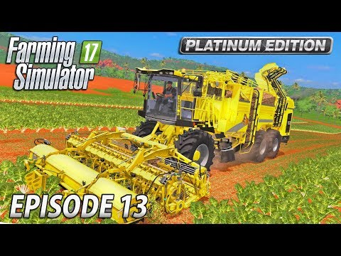 BRINGING IN THE BIG KIT | Farming Simulator 17 Platinum Edition | Estancia Lapacho - Episode 13