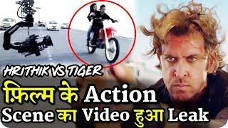 Hrithik Vs Tiger Shooting Hrithik Roshan Action Scene Video Leaked