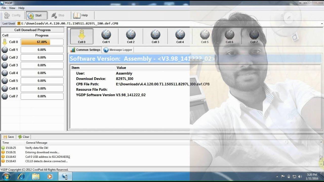 Coolpad Dazen 1 8297L 100 Flashing By YGDP