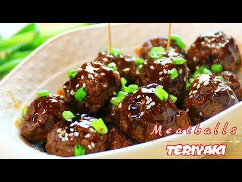 35 minute teriyaki meatballs