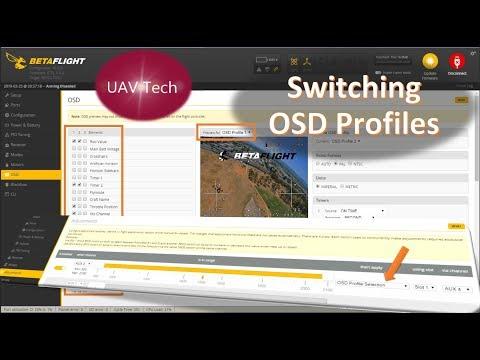 Betaflight OSD Profile Switching - YouTube
