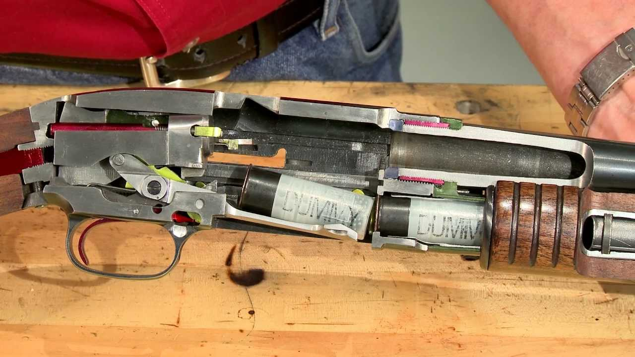 Gunsmithing  How a Winchester Model 12 Works  Cycle of Operation  YouTube