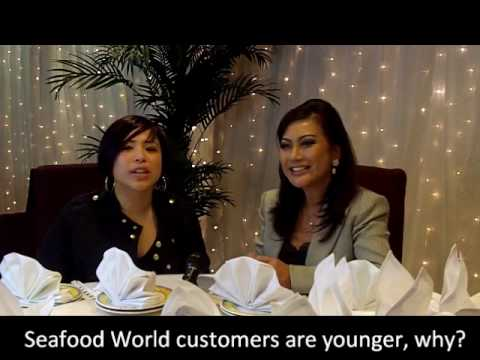 Seafood World's catering services