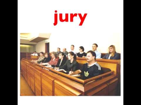 English Vocabulary for ESL: Legal Vocabulary - Court Cases