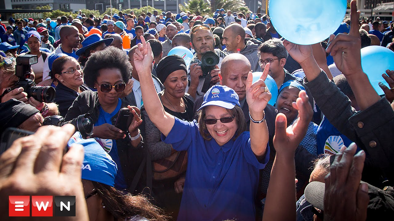 DA celebrates 'turning point in SA history'