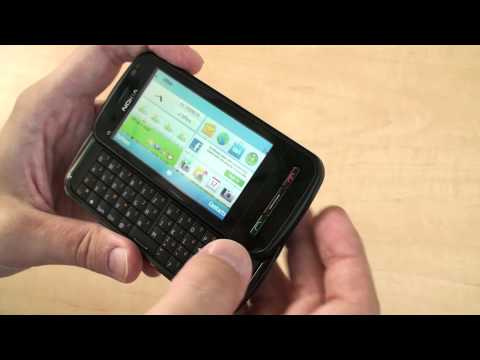 Nokia C6: první pohled