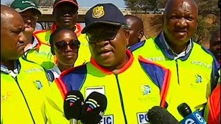 Mbalula leads operation introducing demerit system to motorists