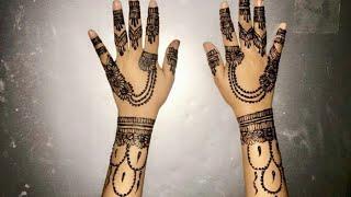 BEAUTIFUL HINNA DESIGN||Saffa shariff