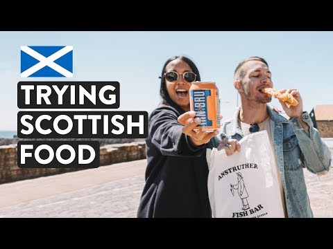 A Day Of Scottish Food In Fife | Anstruther Fish Bar | Scotland DIY Food Tour!