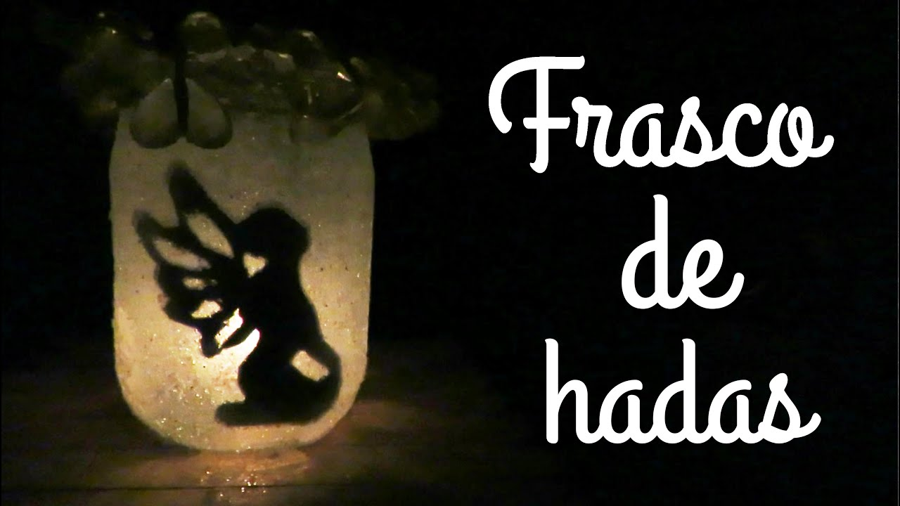 Lamparas De Hadas Frasco De Hadas Facil Decora Tu Cuarto Youtube