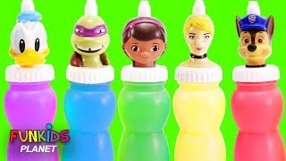 Paw Patrol & Doc McStuffins Slime Surprise Colours