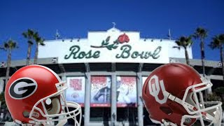 Georgia vs Oklahoma Rose Bowl 2017 2018 Initial Thoughts