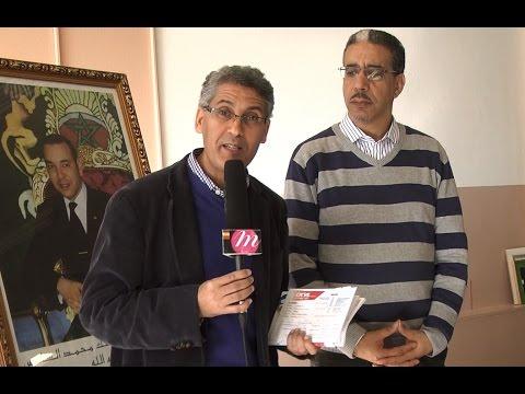 Aziz Rabbah à Montréal face à la presse