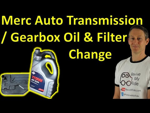 how-to-change-the-oil-and-filter-on-a-mercedes-7-gtronic-automatic-transmission